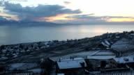 Sunset Lac Leman video