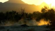 Sunset motocross sihlouette video