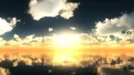 sunset ocean video
