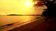 Sunset on Ao Nang, Krabi video