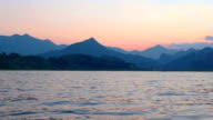 Sunset on Lake Skadar video
