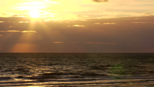 Sunset on Ocean (HD 1080) video