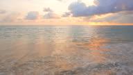 HD Sunset on the beach video