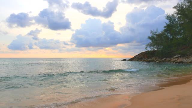 HD - Sunset on the beach video