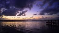 Sunset on the Florida Keys video