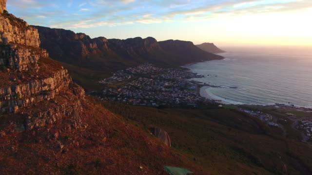 Sunset over Camps Bay video