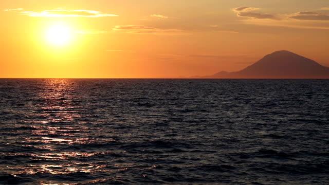 Sunset over Ionic Sea video