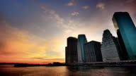 Sunset over Manhattan video