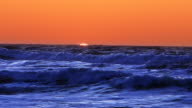Sunset Over Ocean Beach, San Francisco, California video