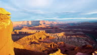 T/L 8K Sunset over the Canyonlands National Park video