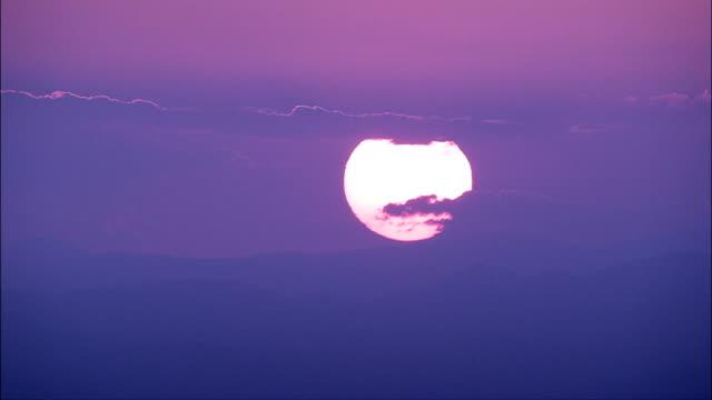 Sunset Over Zaragoza  - Aerial View - Aragon, Saragossa, Zaragoza, Spain video