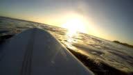 sunset paddle video