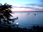 Sunset Sailboats NTSC video