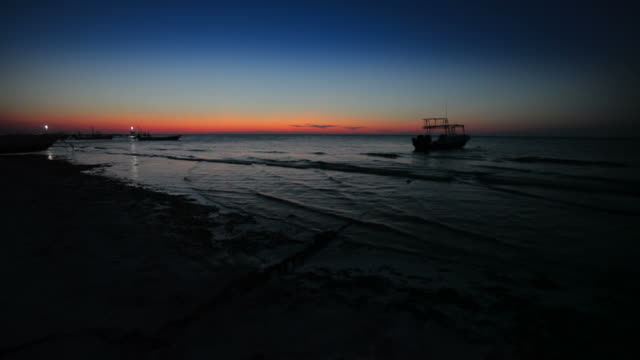 Sunset Sea, Holbox Mexico video