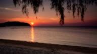 Sunset Sea video