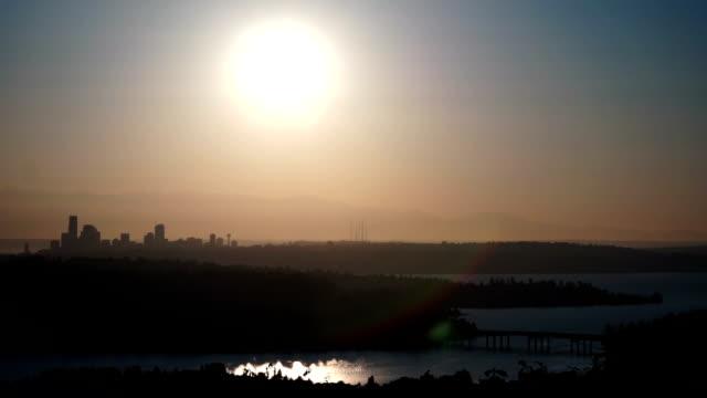 sunset Seattle video