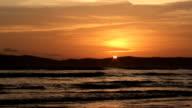 sunset shore video