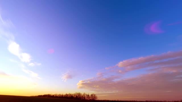 Sunset Sky. video