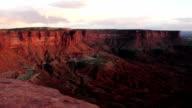 Sunset Soda Springs Basin Green River Canyonlands National Park video