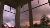Sunset Storm Time Lapse video