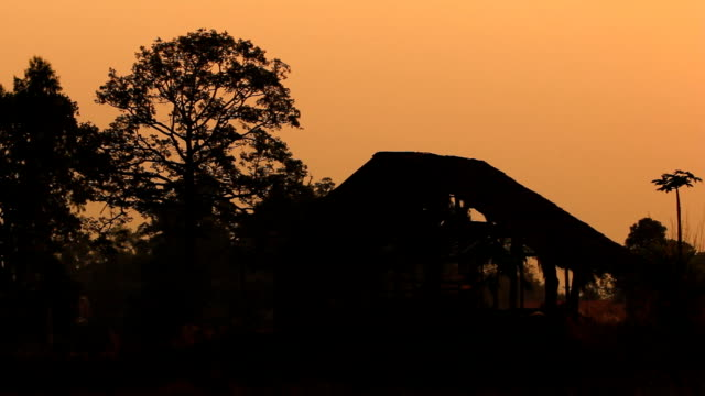 Sunset / Sunrise on the hill. video