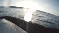 Sunset Surfing video