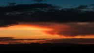 Sunset timelapse, night falls. HD720, NTSC video