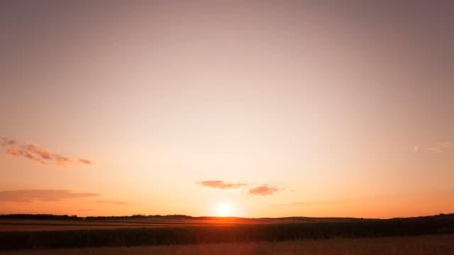Sunset; Timelapse video