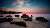 Sunset Tropical Beach video