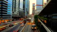Sunset Urban City video
