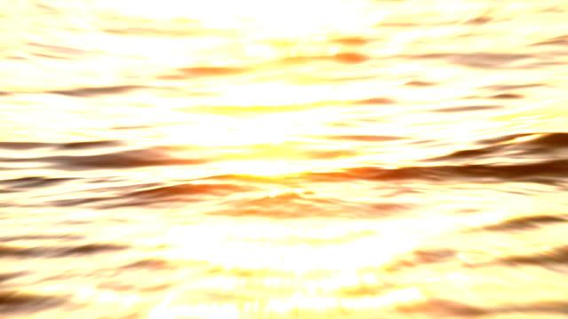 Sunset waves video