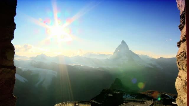 Sunsets on the Matterhorn video