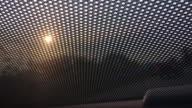Sunshade of car video