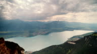 Sunshine Over Lake Thun in Switzerland video