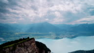 Sunshine Over Lake Thun video