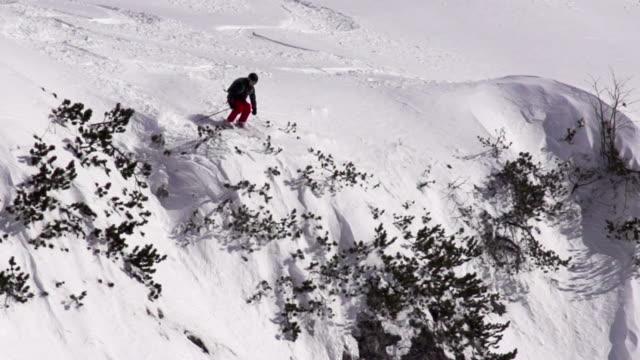 HD Super Slo-Mo: Free Rider Jumping at Downhill video