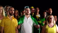 Super Slow Motion HD - Brazil Fans rue Missed chance video