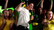 Super slow motion HD - Brazil sports fans (Olympics 2016) video