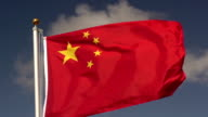 Super Slow Motion HD - China flag video