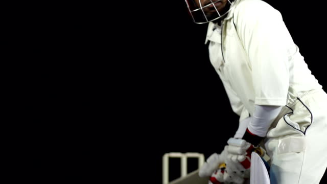 Super Slow Motion HD - Cricketer playing a shot (Cricket) video