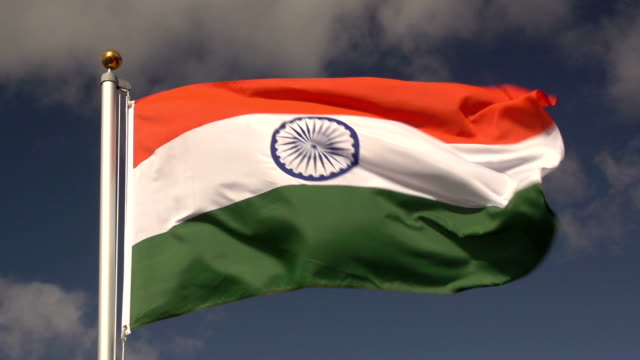 Super Slow Motion HD - Indian Flag video
