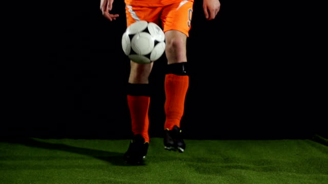 Super Slow Motion, Keepy Uppies with Football Soccer Ball video
