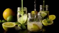 Super slow motion made lemonade video