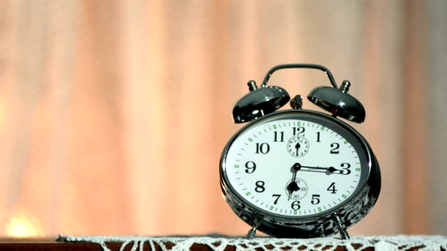 HD Super Slow-Mo: Alarm Clock Explosion video