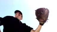 HD Super Slow-Mo: Baseball Catcher In Action video