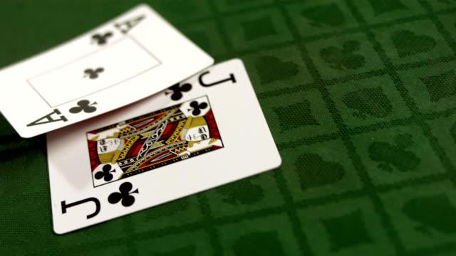 HD Super Slow-Mo: Blackjack Starting Hand video