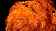 HD Super Slow-Mo: Breathing Fire At Camera video