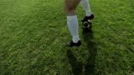 HD Super Slow-Mo: Dribble A Soccer Ball video
