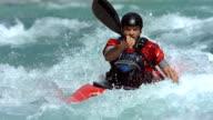 HD Super Slow-Mo: Extreme Whitewater Kayaking video