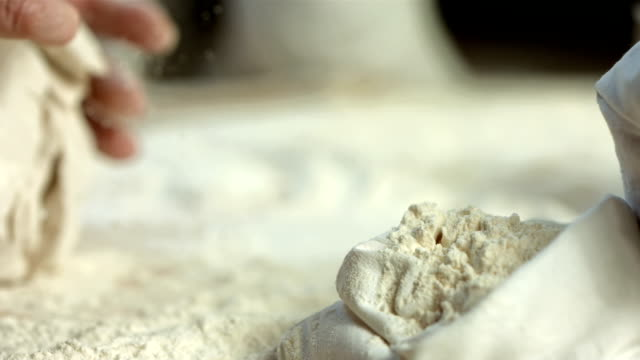 HD Super Slow-Mo: Kneading Dough video